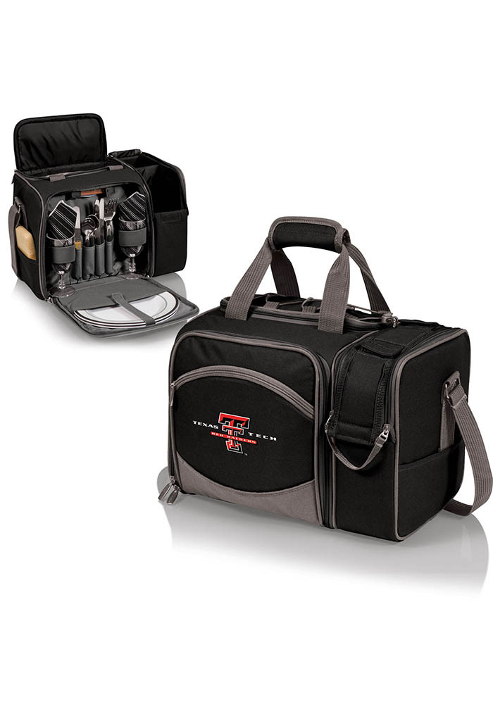 Texas Tech Red Raiders Malibu Embroidered Picnic Pack Cooler - Image 1