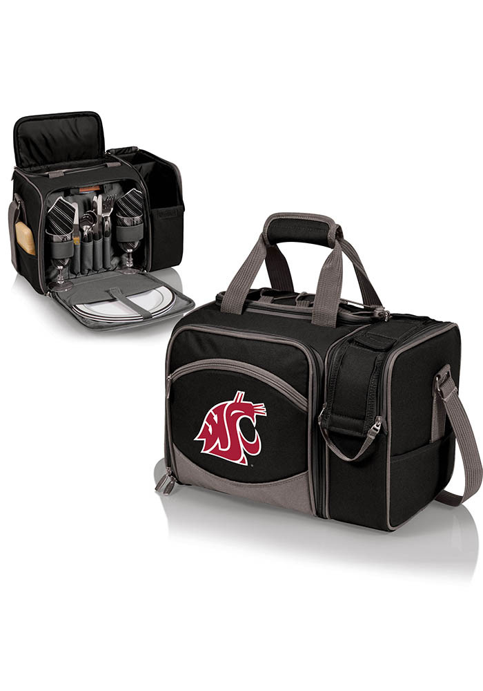 Washington State Cougars Malibu Digital Print Picnic Pack Cooler - Image 1