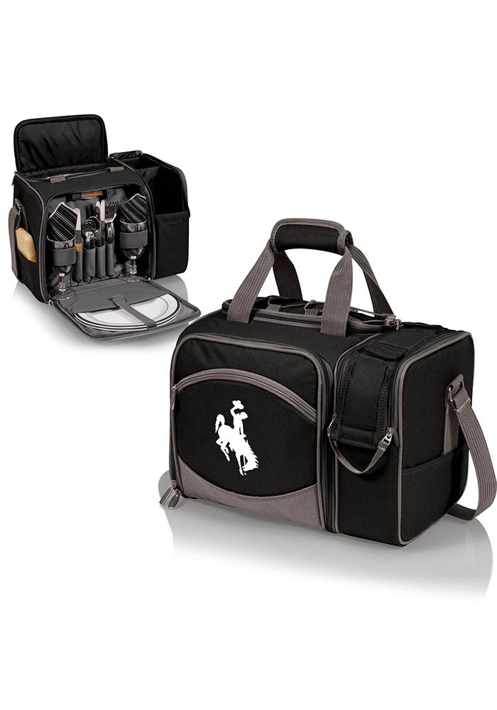 Wyoming Cowboys Malibu Embroidered Picnic Pack Cooler - Image 1