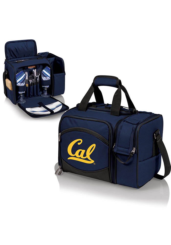Cal Golden Bears Malibu Digital Print Picnic Pack Cooler - Image 1