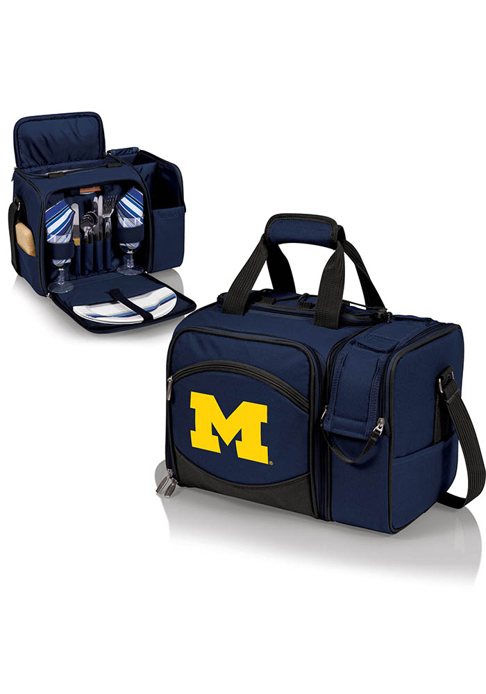 Michigan Wolverines Malibu Embroidered Picnic Pack Cooler - Image 1