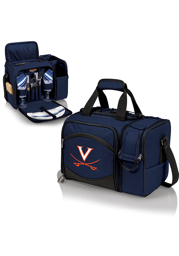 Virginia Cavaliers Malibu Embroidered Picnic Pack Cooler - Image 1
