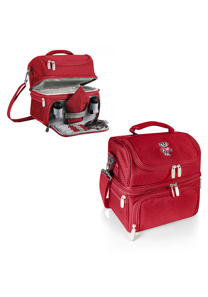 Wisconsin Badgers Pranzo Personal Cooler - Image 1