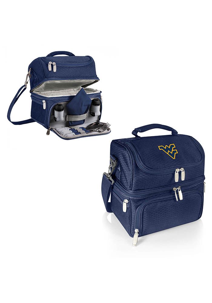 West Virginia Mountaineers Pranzo Personal Cooler - Image 1