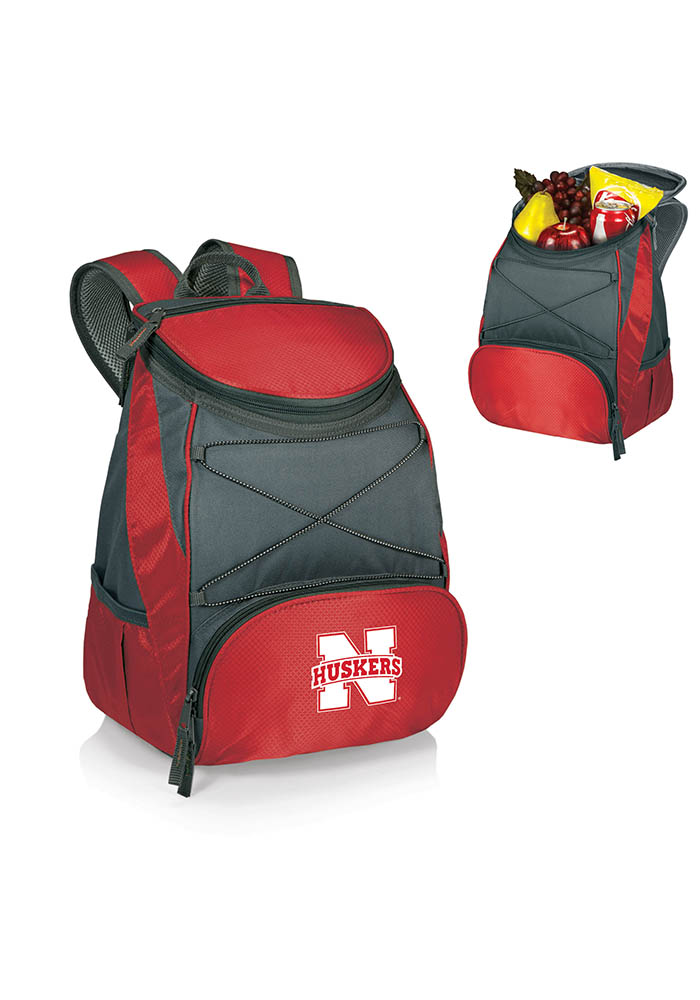 Nebraska Cornhuskers PTX Backpack Cooler - Image 1