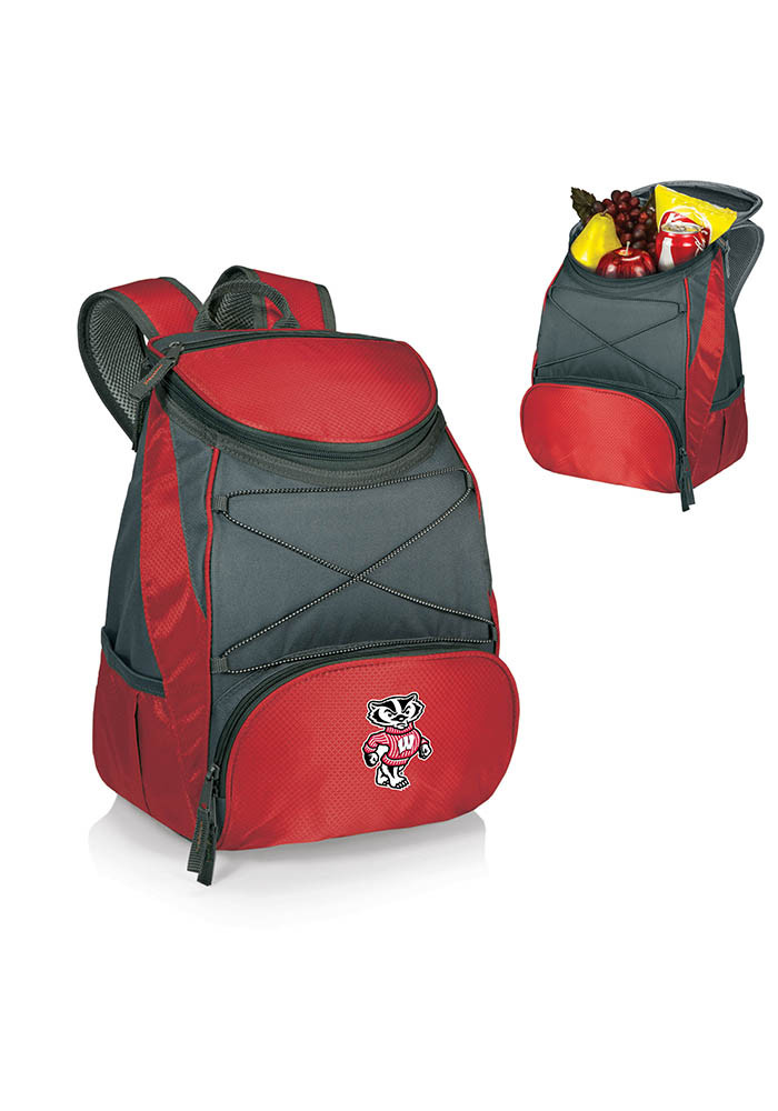 Wisconsin Badgers PTX Backpack Cooler - Image 1