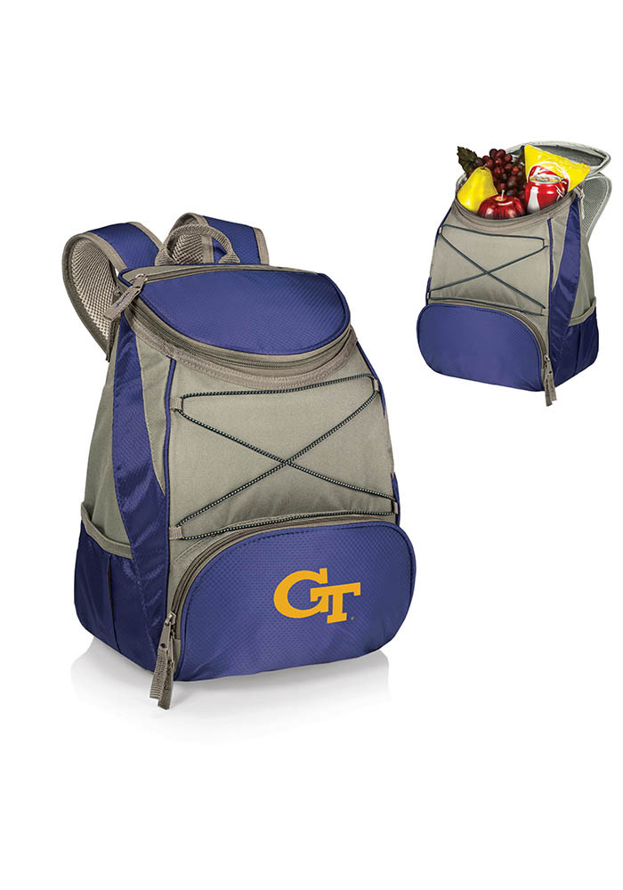 GA Tech Yellow Jackets PTX Backpack Cooler - Image 1