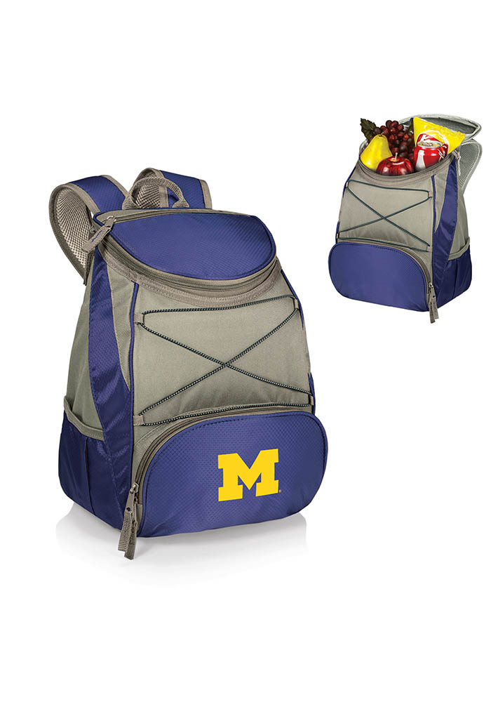 Michigan Wolverines PTX Backpack Cooler - Image 1