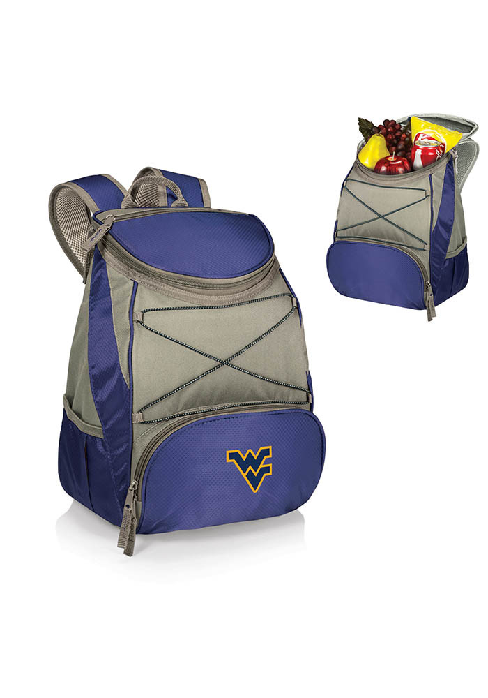 West Virginia Mountaineers PTX Backpack Cooler - Image 1