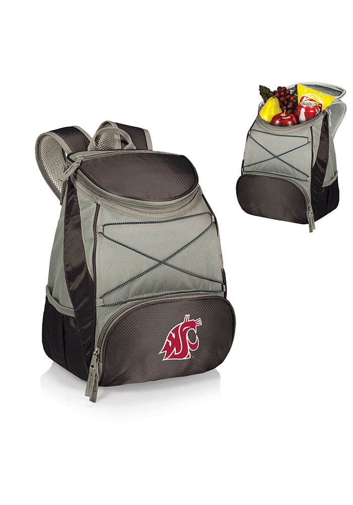Washington State Cougars PTX Backpack Cooler - Image 1