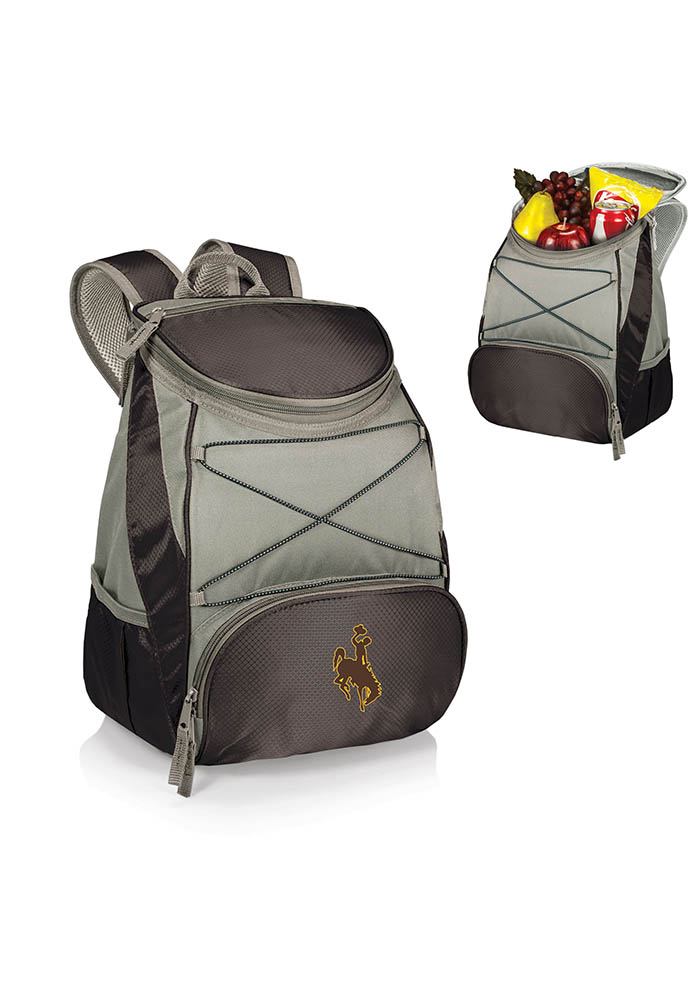 Wyoming Cowboys PTX Backpack Cooler - Image 1