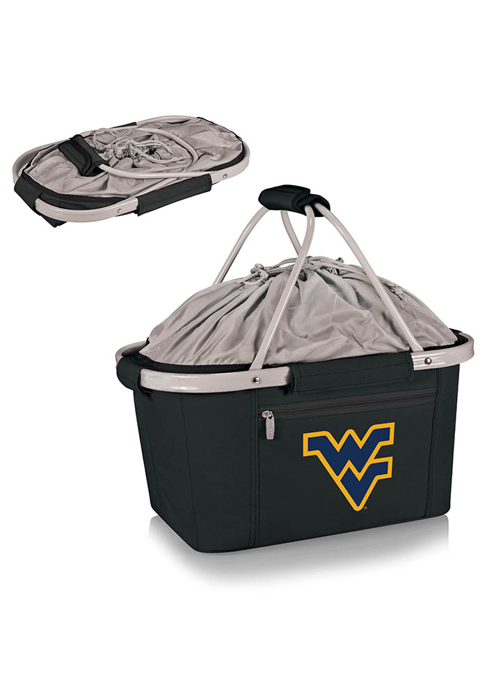 West Virginia Mountaineers Metro Basket Cooler - Image 1