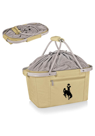 Wyoming Cowboys Emrboidered Metro Basket Cooler
