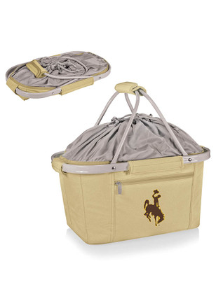 Wyoming Cowboys Digital Print Metro Basket Cooler
