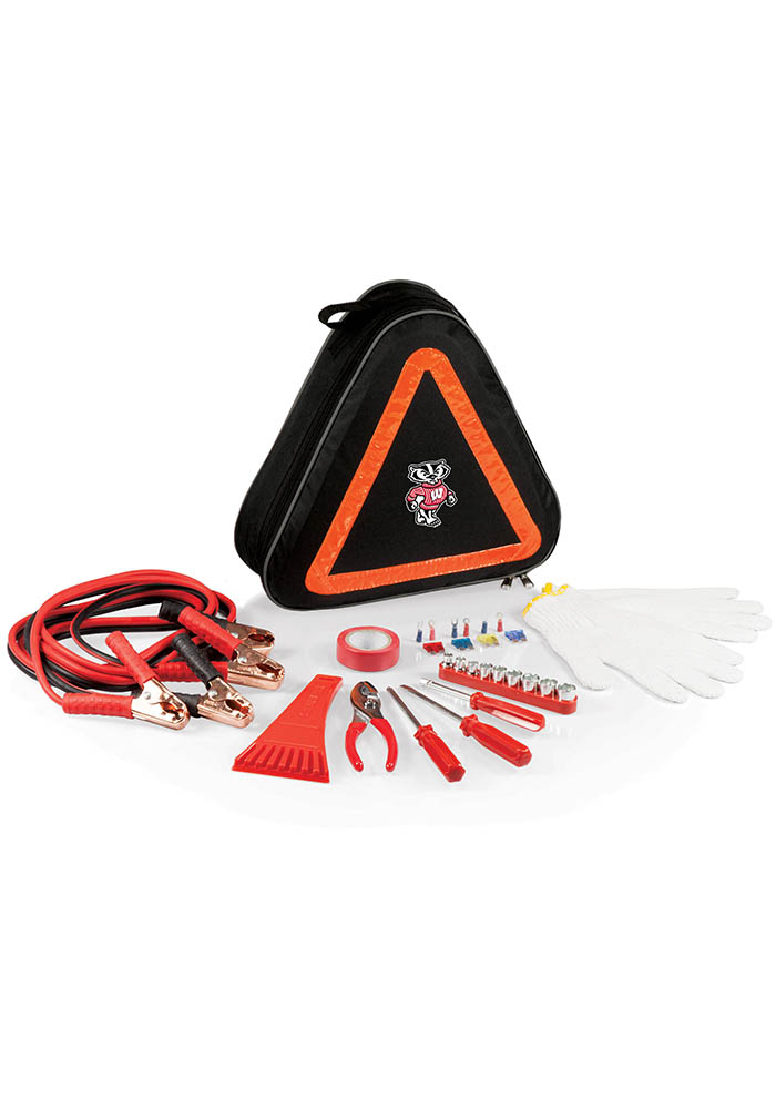 Wisconsin Badgers Roadside Emergency Car Accessory Interior Accessory - Image 1