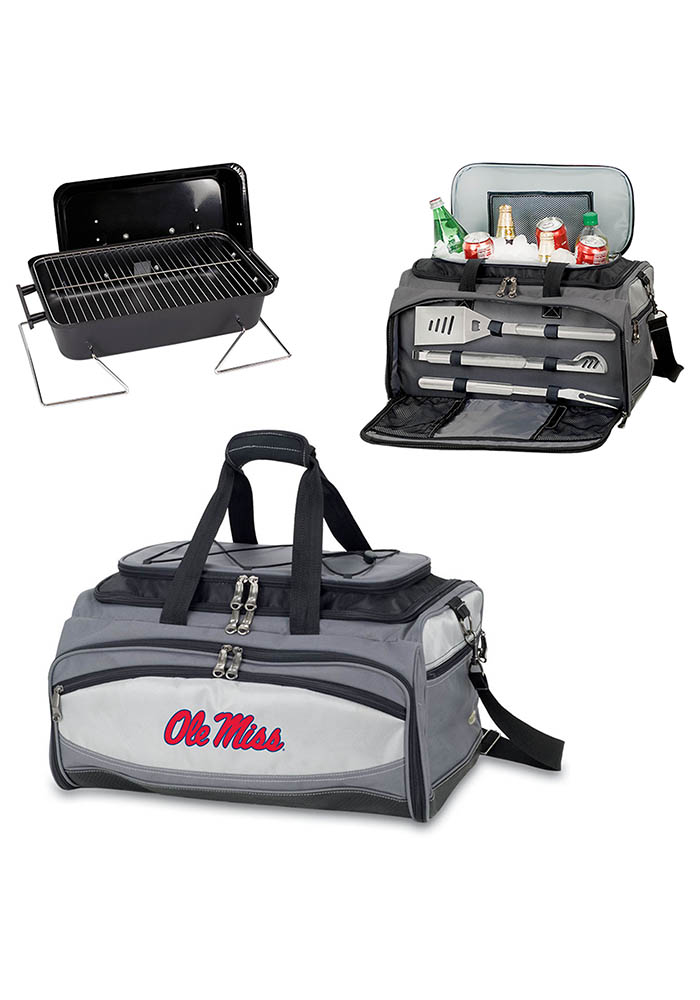 Ole Miss Rebels Embroidered Buccaneer BBQ Tool - Image 1