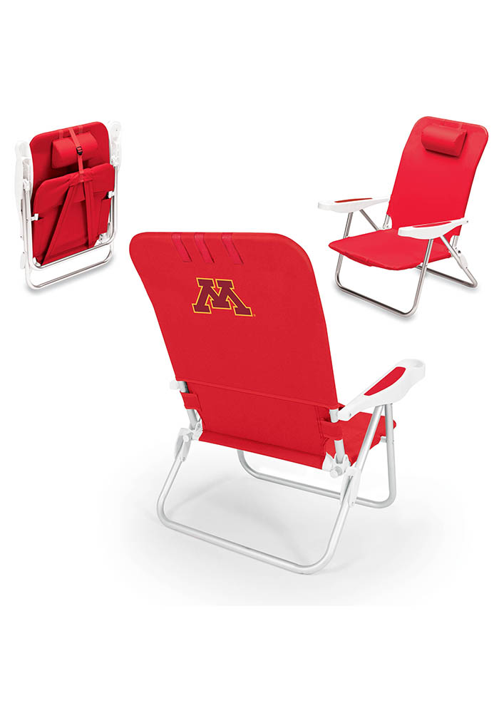 Minnesota Golden Gophers Monaco Folding Chair - Image 1
