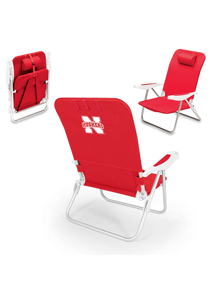 Nebraska Cornhuskers Monaco Folding Chair - Image 1