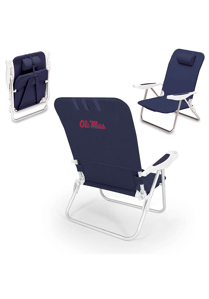 Ole Miss Rebels Monaco Folding Chair - Image 1