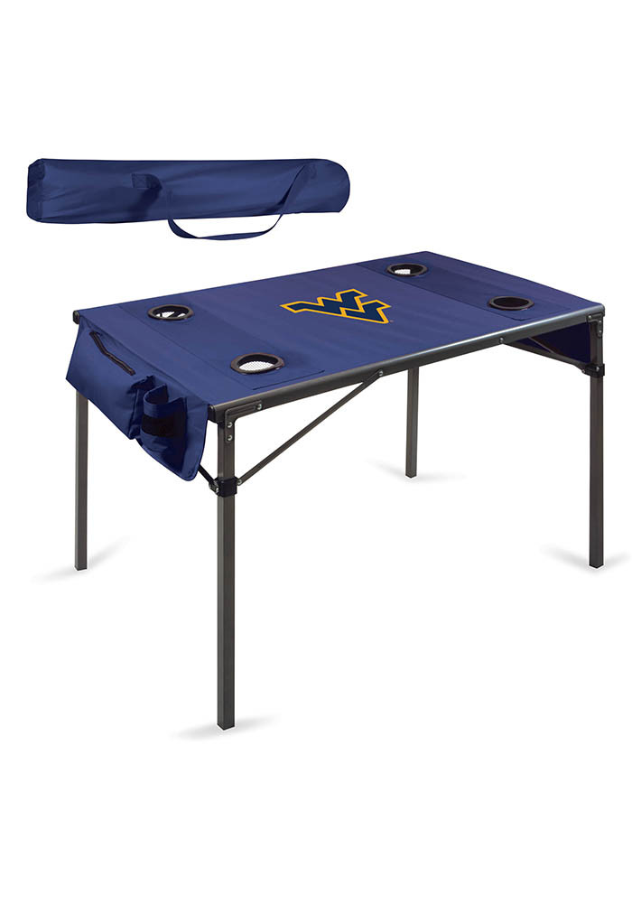 West Virginia Mountaineers Travel Table - Image 1