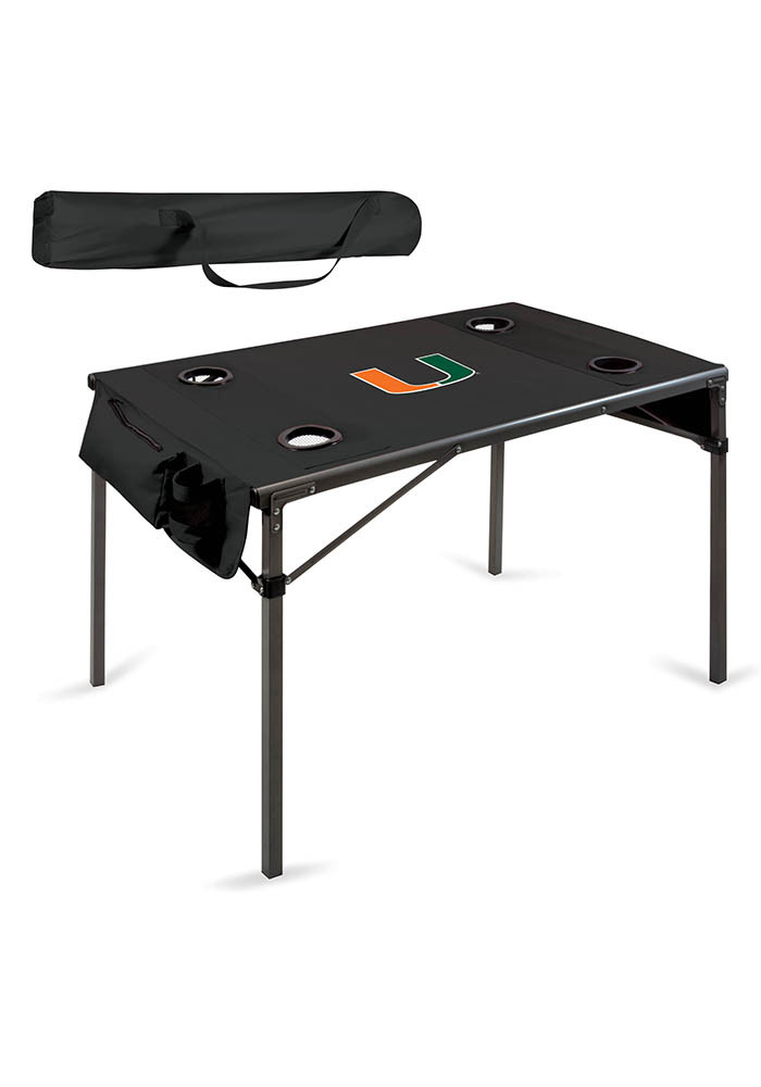 Miami Hurricanes Travel Table - Image 1