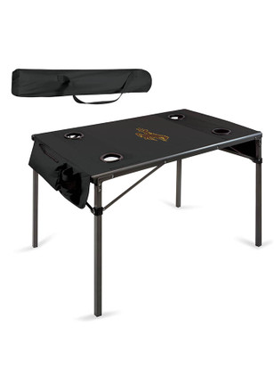 Wyoming Cowboys Travel Table