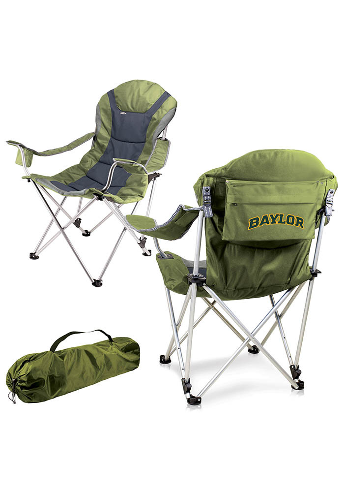 Baylor Bears Reclining Camp Canvas Chair - Image 1