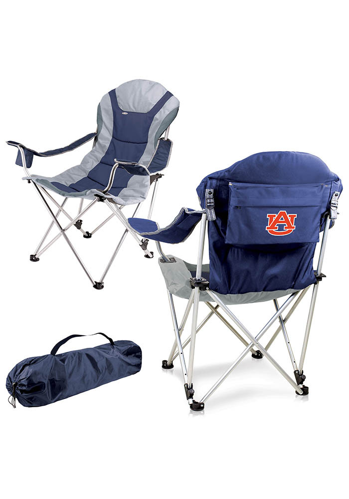 Auburn Tigers Reclining Camp Canvas Chair - Image 1