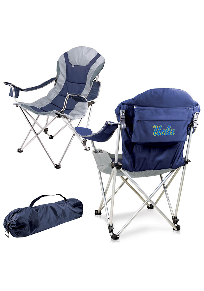 UCLA Bruins Reclining Camp Canvas Chair - Image 1