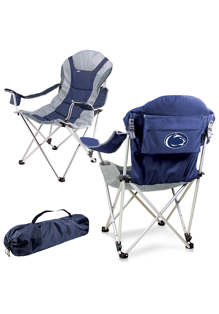 Penn State Nittany Lions Reclining Camp Canvas Chair - Image 1