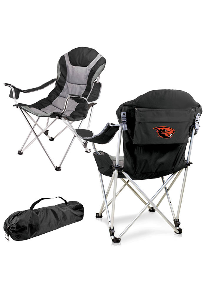 Oregon State Beavers Reclining Camp Canvas Chair - Image 1