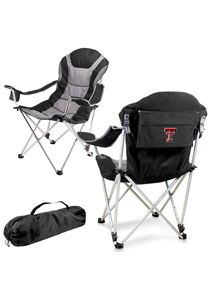 Texas Tech Red Raiders Reclining Camp Canvas Chair - Image 1