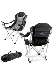 Washington Huskies Reclining Camp Canvas Chair