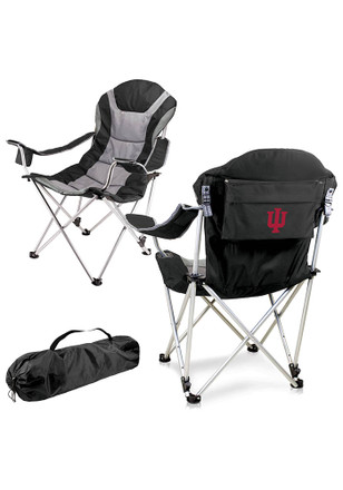 Indiana Hoosiers Reclining Camp Canvas Chair
