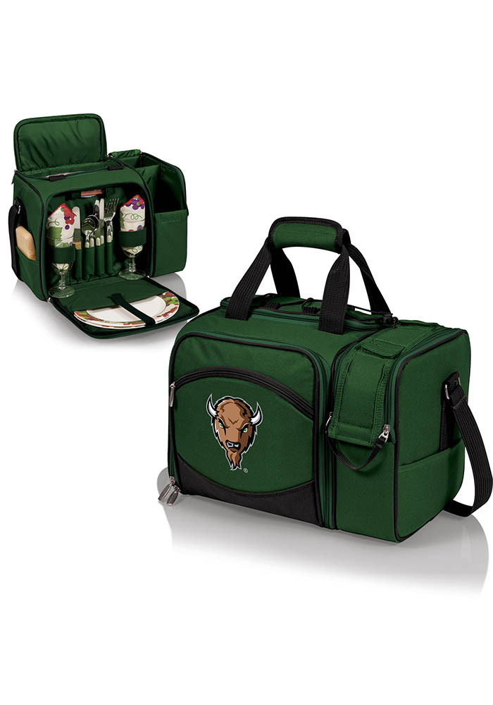 Marshall Thundering Herd Malibu Embroidered Picnic Pack Cooler - Image 1