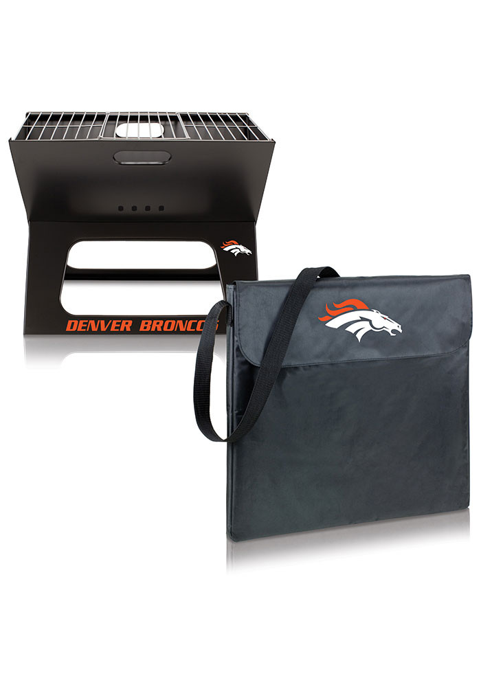 Denver Broncos 22x21x3 X-Grill Other BBQ - Image 2