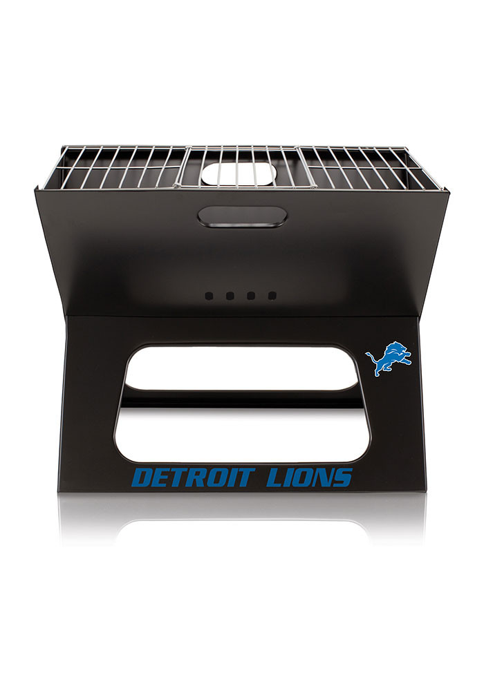 Detroit Lions 22x21x3 X-Grill Other BBQ - Image 1