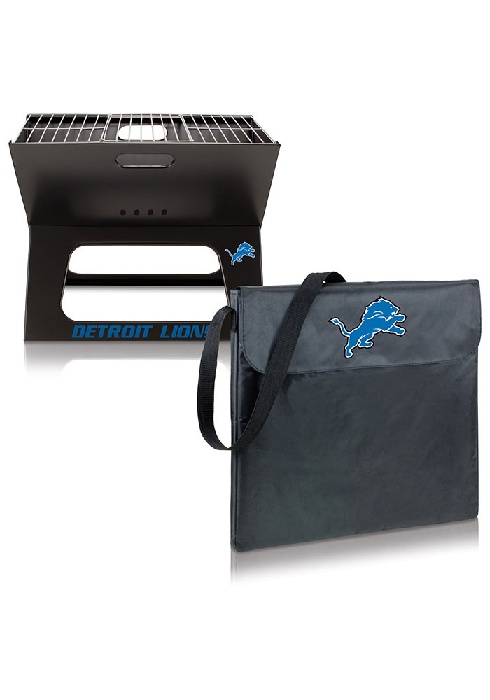 Detroit Lions 22x21x3 X-Grill Other BBQ - Image 2