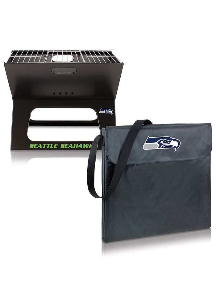 Seattle Seahawks 22x21x3 X-Grill Other BBQ - Image 2