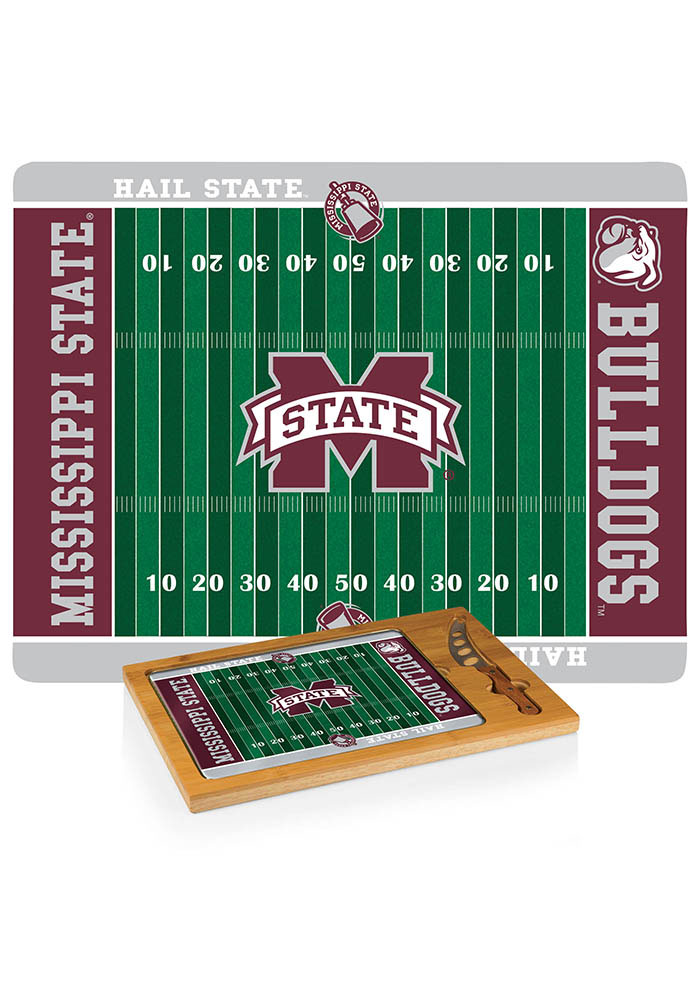 Mississippi State Bulldogs 18x13x3 Icon Cutting Board - Image 1