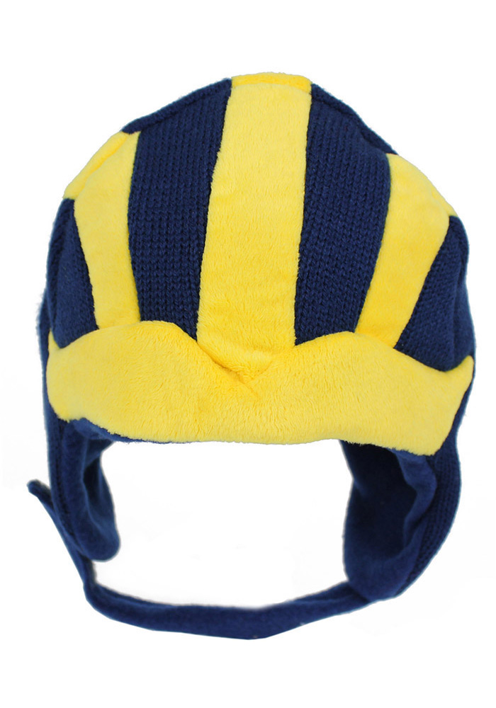 Michigan Wolverines Infant Mascot Baby Knit Hat - Navy Blue 3cf9ffcde3c3