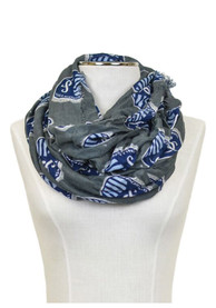 Sporting Kansas City Womens Logo Infinity Scarf - Charcoal