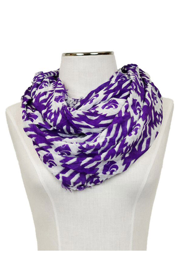 K-State Wildcats Aztec Womens Scarf - Image 1