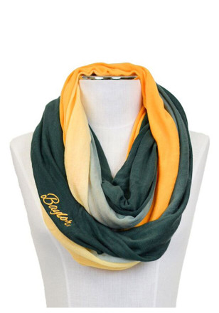 Baylor Bears Ombre Infinity Womens Scarf