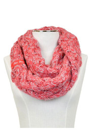 Ohio State Buckeyes Duo Color Knit Infinity Womens Scarf