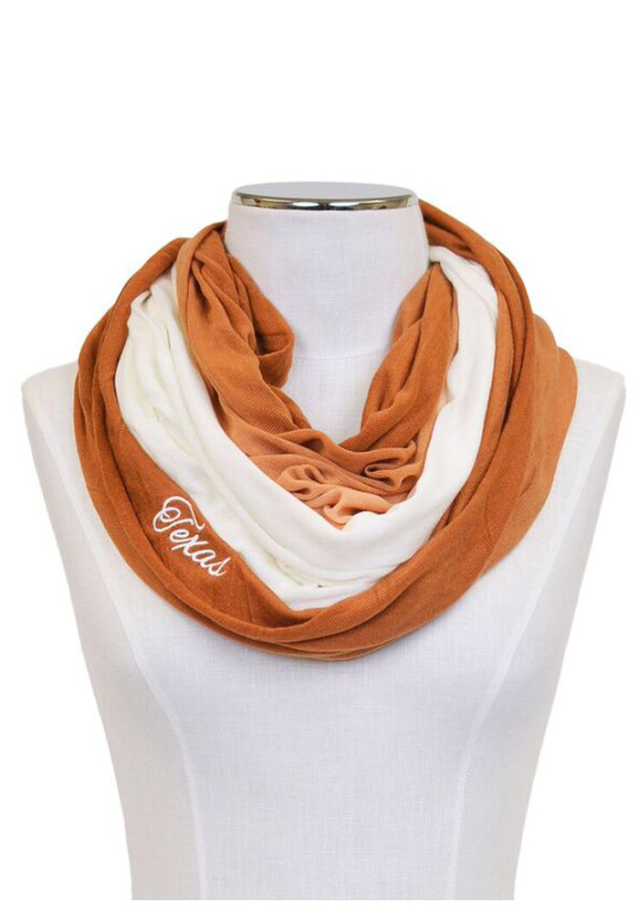 Texas Longhorns Ombre Infinity Womens Scarf - Image 1
