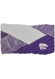 K-State Wildcats Womens Criss Cross Headband - Purple