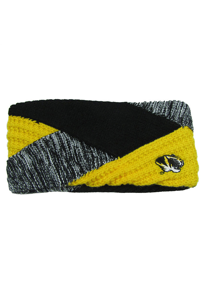 Missouri Tigers Criss Cross Womens Headband - Image 1