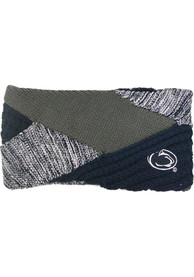 Penn State Nittany Lions Womens Criss Cross Headband - Navy Blue