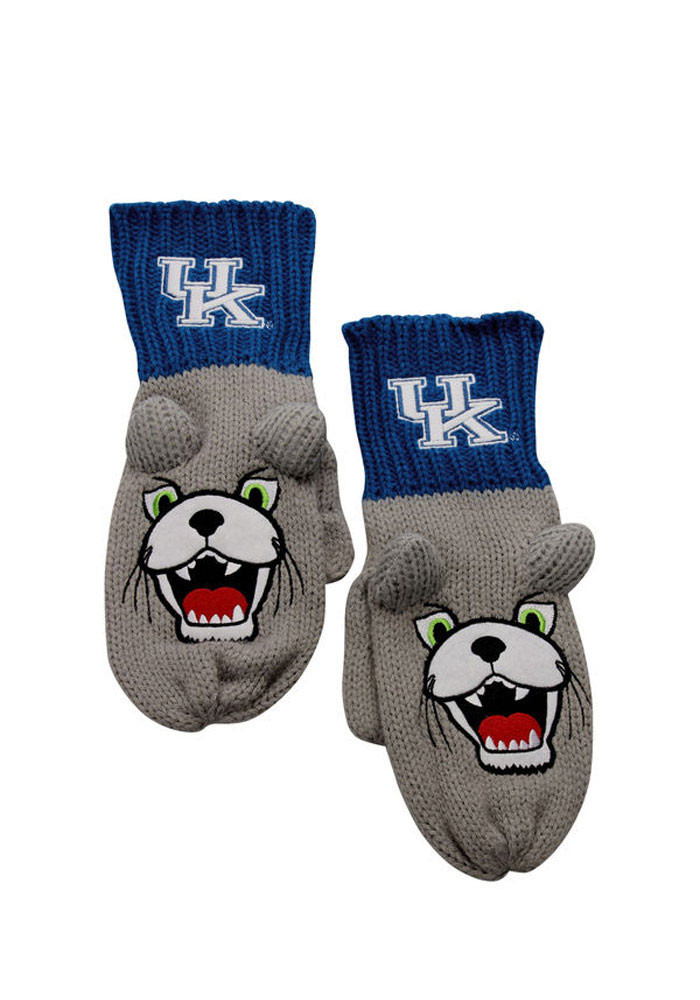 Kentucky Wildcats Mascot Texting Kids Gloves - Image 1